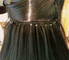 Micro link hair extensions 12 best hair extensions pinterest some notes on link wefts and malaysian style extensions micro ring hair pmusecretfo Gallery