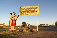 Flinstones Bedrock City - Located in Custer, South Dakota. #travel