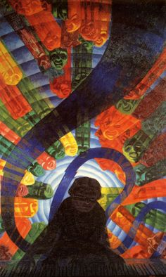 "Musique, 1911. Luigi Russolo was an Italian Futurist painter and composer, and the author of the manifesto ""The Art of Noises""."