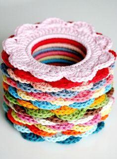 Coisinhas a Mais Etc e Tal: Crochet Love