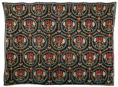A piece of 'Marash work' embroidery (Source: Angèle and Dickran Kouymjian collection, Paris) Embroidery Stitches, Embroidery Patterns, Hand Embroidery, Sewing Patterns, Armenian Culture, Kutch Work, Weaving Art, Print Wallpaper, Ancient Civilizations