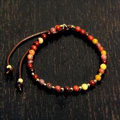 CATHERINE MICHIELS(キャサリンミッシェル)/Toumaline 4mm w/faceted RG beads
