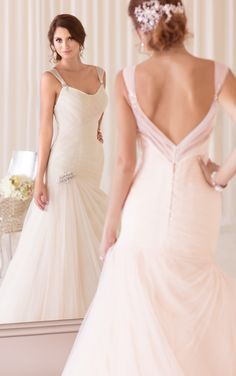Luxurious Essense of Australia Wedding Dresses 2014 Collection Part II. To see more: http://www.modwedding.com/2014/01/17/luxurious-essense-australia-wedding-dresses-2014-collection-part-2/ #wedding #weddings #fashion