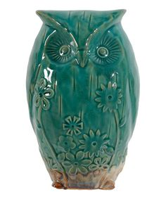 Clay Owl Figurine   zulily