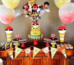 101 fiestas: 10 ideas para decorar tu mesa de dulces de Pokémon go