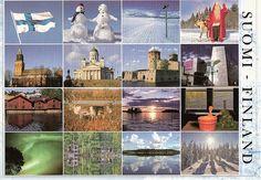 Suomi Finland Multiview, postikortti