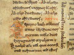The Hague, KB : ms. 73 B 24, f. 13; Montecassino, c. 1100 - Beneventan Script