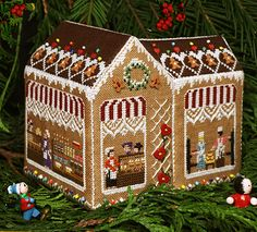 The Victoria Sampler - Someday I need to get the whole Gingerbread Village set!!! <3 <3