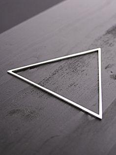Triangle Bangle by Alex and Chloe