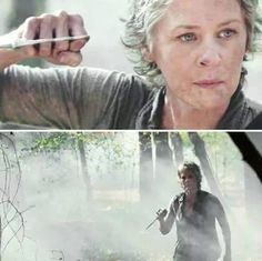 I absolutely loved Melissa McBride in the season 5 promo <3