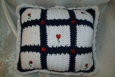 Crochet-pillow-hand-made