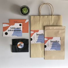 bonito packaging design: Hand made objects designed and built with natural materials. You Are Awesome, Natural Materials, Paper Shopping Bag, Packaging Design, Objects, Handmade, Home Decor, Bonito, Hand Made