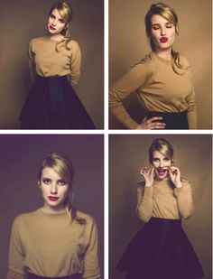 emma ...I'm obsessed with her now!...and her style