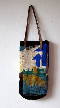 knitted bag by chrisvanveghel