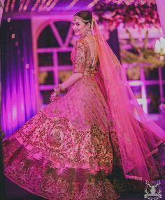 Top Bridal Lehenga design ideas from Trending designers in India Wedding Lehnga, Indian Bridal Lehenga, Indian Bridal Outfits, Indian Bridal Fashion, Indian Bridal Wear, Bridal Dresses, Wedding Outfits, Indian Wear, Bridal Looks