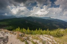 The Western Tatras, view from the Kopieniec peak, near Zakopane (Poland).  #landscapephotography #mountainphotography