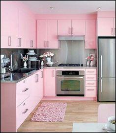 retro microwave | retro+kitchen-50s+theme+kitchens-retro+kitchen-50s+theme+kitchens-pink ...