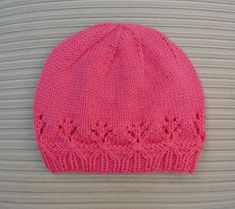 Instant Download 227 Knitting Pattern Hat Vanessa