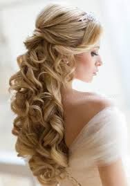 half up half down wedding hairstyles - Google Search