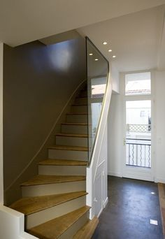 1000 images about escalier on pinterest stairs cottage - Renovation maison avant apres travaux ...