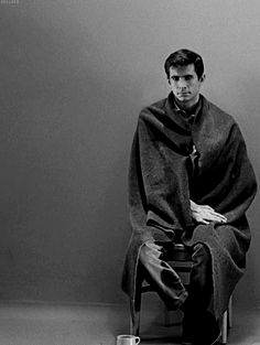 """""""I'm not even going to swat that fly. I hope they are watching... they'll see. They'll see and they'll know, and they'll say, """"Why, she wouldn't even harm a fly..."""" - Anthony Perkins"""