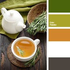 color for a wedding, color matching, color of green tea, color of greenery, color of honey, color of rosemary, color palette for a wedding, gamma for a wedding