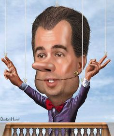 Must Read at TPM: Scott Walker - ALEC's Trojan Horse  While it's easy to get distracted by Donald Trump's antics, Walker is a far more dangerous candidate.