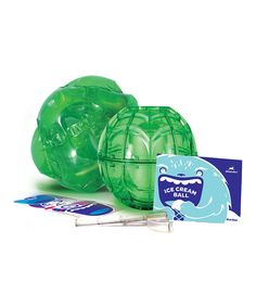 Love this YayLabs! Green 16-Oz. Ice Cream Ball & Cover Set by YayLabs! on #zulily! #zulilyfinds