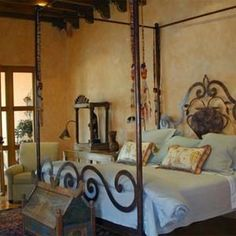 Handforged Wrought Iron Bed
