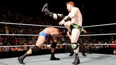 WWE.com: Sheamus vs. Wade Barrett: photos #WWE