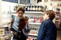 The Goonies - Corey Feldman, Sean Astin<< my 2 favorite characters! Mouth and Mikey! 90s Movies, Good Movies, Movie Tv, Movies Showing, Movies And Tv Shows, Pepsi, Os Goonies, Corey Feldman, Film Images