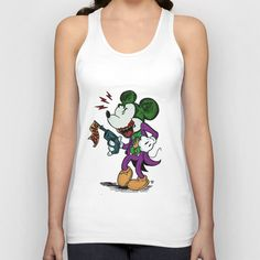 Why So Serious?  Unisex Tank Top by Eric Wirjanata - $22.00