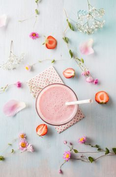 We don't need to tell you twice that what you put in your body has a major impact on your complexion. Beauty evolves from the inside out, so it's important to consume healthful, nutritious foods that give your skin a boost, whether you're fighting breakouts or seeking a youthful glow. Smoothies are a super quick, easy way to ensure you're getting all the good stuff.