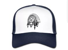 €17,99 order NOW!KamisaChief TruckerCap Blue. Match it with a KamisaChief hoody or t-shirt.