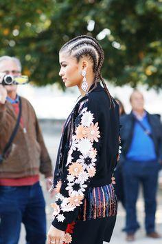 Braids + Bling #fashion #inspiration