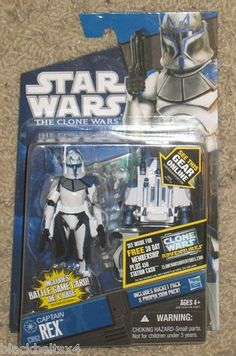 Star Wars Clone Wars CW62 CAPTAIN REX Figure