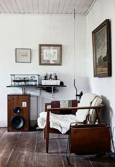 The Industrial Audiophile | Apartment Therapy