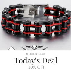 Today Only! 10% OFF this item.  Follow us on Pinterest to be the first to see our exciting Daily Deals. Today's Product: Sale - 10% OFF HEAVY CHAIN BRACELET - BLACK&RED or BLACK&ORANGE or SILVER&BLUE Buy now: https://small.bz/AAcSQP3 #musthave #loveit #instacool #shop #shopping #onlineshopping #instashop #instagood #instafollow #photooftheday #picoftheday #love #OTstores #smallbiz #sale #dailydeal #dealoftheday #todayonly #instadaily