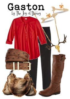 Outfit inspired by Gaston from Beauty and the Beast!