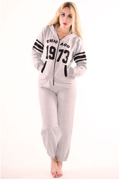 Pop Couture - Bevis 1973 Chicago All in One Onesie In Grey, £34.00 (http://www.popcouture.co.uk/clothing/bevis-1973-chicago-all-in-one-onesie-in-grey/)