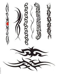 The bottom 1..!!! Tribal Band Tattoo, Tribal Arm Tattoos, Tribal Tattoo Designs, Symbol Tattoos, Body Art Tattoos, Tattoo Drawings, Tattoo Lettering Design, Soul Tattoo, Christian Symbols