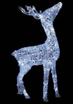 Ling Led Standing Christmas Reindeer