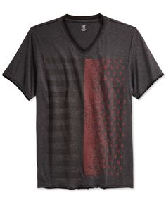 Inc International Concepts Graphic V-Neck T-Shirt, Only at Macy's