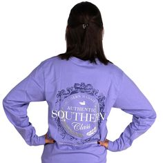 If you truly have Southern Class, then there's no need to say it ... BUT, that doesn't mean you can't wear it on your back! That's were Southern Marsh is here to help with this great looking tee.