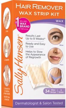 Hair Remover Wax Strip Kit for Face. My second favorite wax product, great for touch-ups!