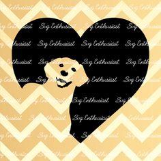 Dog Heart SVG, dog love Svg, Dog Svg, Puppy Svg, SVG cutting file, Cricut, kawaii, Dxf, PNG, Vinyl, Eps, Cut Files, Clip Art, Vector. by SVGEnthusiast on Etsy