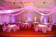 An elegant ballroom reception at Disney's Grand Floridian Resort & Spa