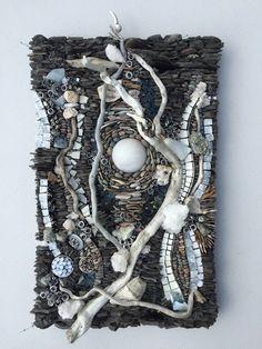 wall art:  snow quartz  SOLD