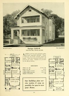 Central's book of homes, i think this was the house plan for a house I lived in during college