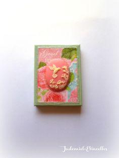 """Mini toile décorative """" Songes de fleurs """" n°53 : Accessoires de maison par jademiel-etincelles"""